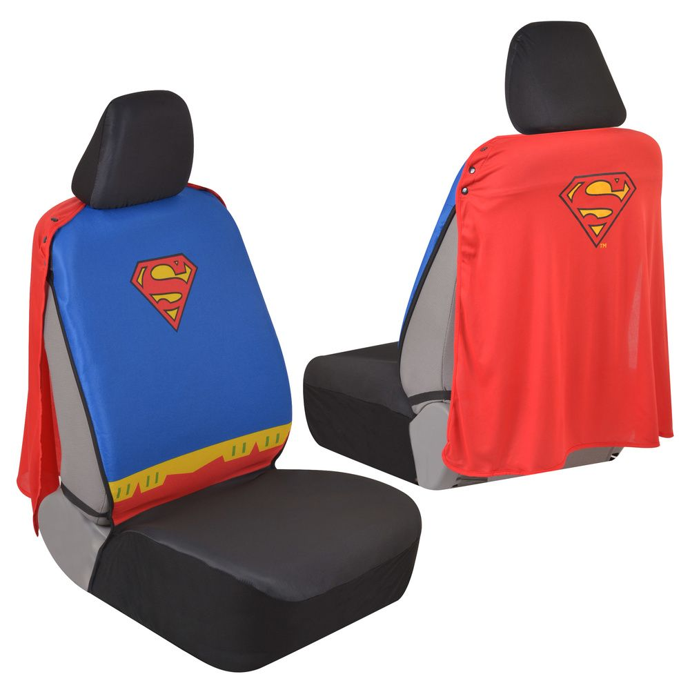 Superman Car Seat Covers With Cape