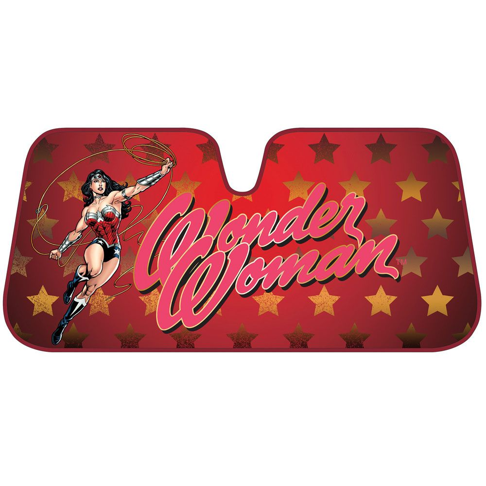 Wonder Woman Windshield Sun Shade Sunshades Bdk