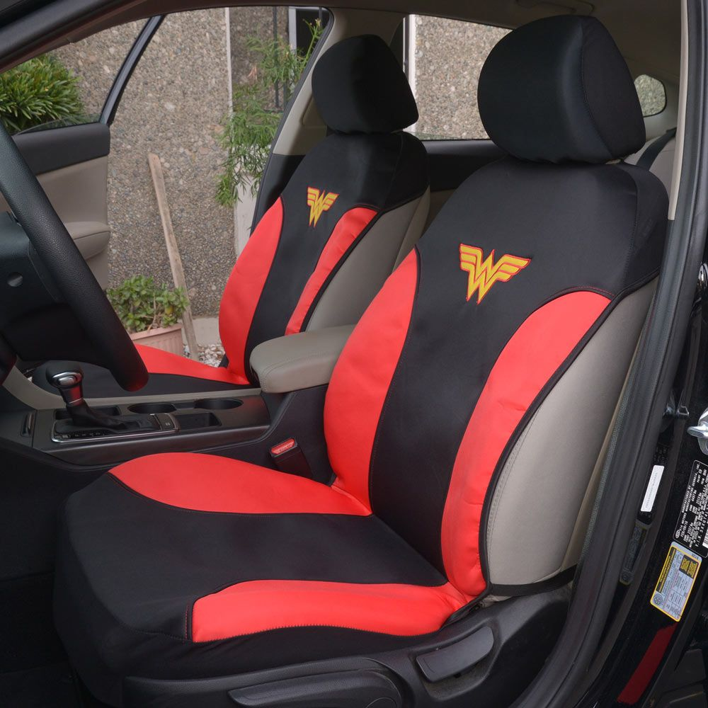 Wonder Woman Water Proof Seat Covers Character Seat